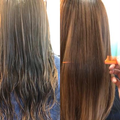 ブリーチ毛ハイダメージ毛もサラ艶⭐︎髪質改善酸熱tr+炭酸+三種のtr¥20900→8800⭐︎枝毛カットサービス⭐︎