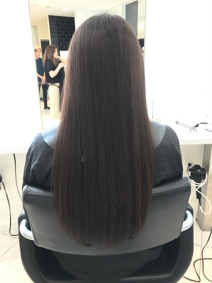 カラー ツヤ髪