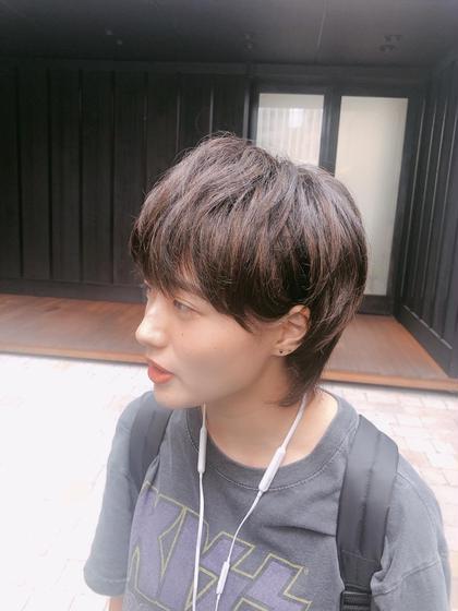 💛赤み除去カラー➕毛量カット➕前髪カット➕トリートメント🧡