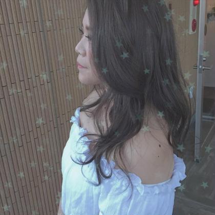lavender ash 細かいハイライトをたくさん入れて 透明感たっぷり外国人風♡ kitchen所属・増永麻衣のスタイル