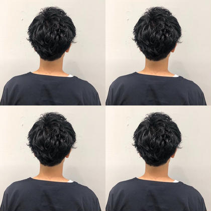 👔💈メンズ就活・インターン💈👔 好印象デザインカット+色落ちしない黒染めカラー+髪質改善クイックトリートメント+炭酸ヘッドスパ