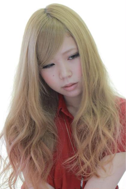 ふわふわなガーリーヘアです‼︎ ドライな質感がポイントです♡ Hair create & Photograph  GATE所属・CreatorG.M.Aのスタイル