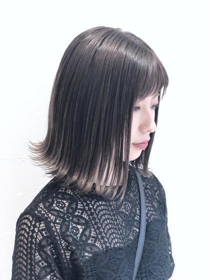 💙ワンメイクでもクオリティの高いヘアカラーを。元の髪質と髪色に合わせて薬剤を選定します。絶対に似合うカラーを提案しますね😊