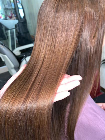 🌈ミニモ限定🌟最高の仕上がり🙆♂️🙆♀️カット+髪質改善縮毛矯正+AujuaTR¥21750→¥15600