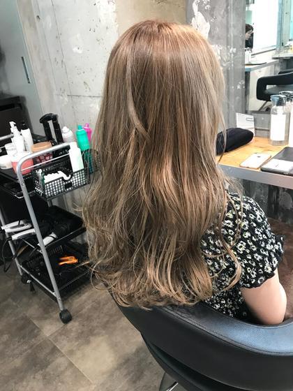 ミルクティー⭐️ オクリコウダイのロングのヘアスタイル