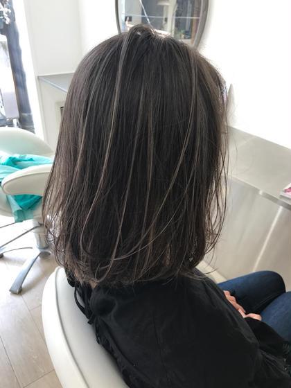 店長 奥山太のヘアカラーカタログ