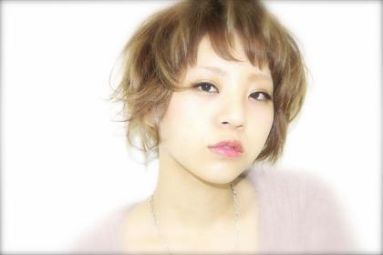 ショートバング&ランダムなカラーでストリート感あるショートに☆ CHERIE hair design所属・キムラユウタのスタイル