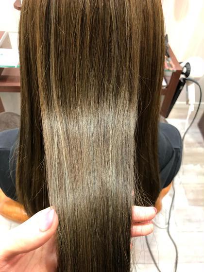 【学生限定】前髪カット+オーガニックカラー+オイルトリートメント