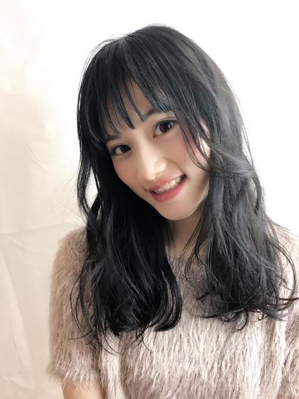 ☆アディクシーカラー☆ Cyan hair labo所属・石井彰浩のスタイル