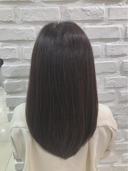 ▪️癖の強い髪もしっかり伸ばしてサラサラストレートに⭐️⭐️⭐️