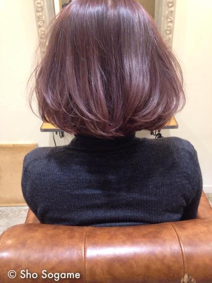 miel hair&spa所属・十亀翔のスタイル