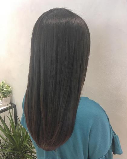 カット&縮毛矯正&トリートメント