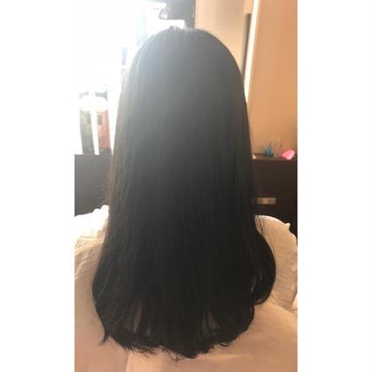 トリートメントのお客様です! 髪の毛が柔らかくなり、しなやかにまとまりました! ホームケアも使うと約2ヶ月効果が持続します! cliniczonevivarc駅前店所属・やまぐちまりんのスタイル