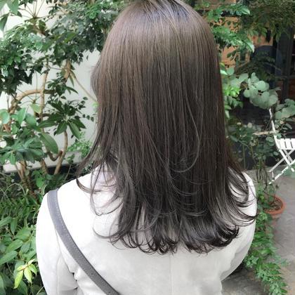 【毎回OK】🌈大人気🌈カット➕赤みゼロ外国人風カラー➕髪質改善4ステップトリートメント