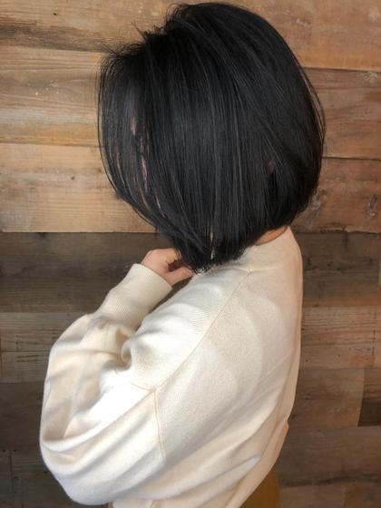 その他 カラー キッズ ショート ネイル ヘアアレンジ マツエク・マツパ 【 ハイライト × ブルージュ 】  アッシュベースにハイライトを足したデザインカラーです🌟  細かいハイライトが退色してもメッシュっぽくならず自然と馴染むのでお客様から大好評です☺️  黒髪まではいきませんが、これだけトーンを落としても独自のこだわりのある選定で透明感たっぷりのブルージュカラーで重く見えません😊  グレージュカラーも人気ですよ😉