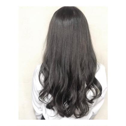 [簡単イメチェン!]前髪カット & 艶ヘアカラー