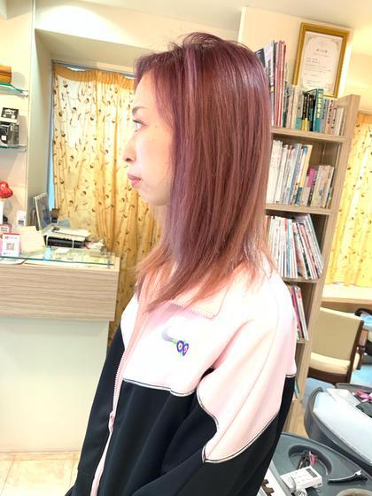 💖 minimo限定! 👑人気No1 🔱【カラー】 💖💖&ケアスパ