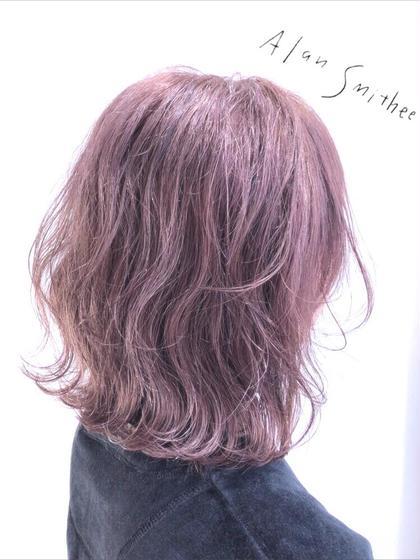【🌼期間限定メニュー🌼】前髪カット+前髪パーマシャンプーブロー込