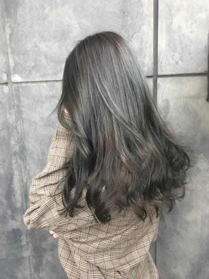 マットグレージュ オカモトサキのヘアスタイル・ヘアカタログ