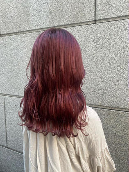 ✨高発色✨🍒暖色系カラー限定クーポン🍒+卵殻トリートメント