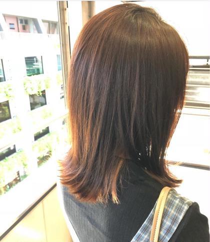 ✨自然体な髪へ🌿 【似合わせカット】➕【オーガニックコスメカラー】➕【トキオ 4steptreatment】🌿
