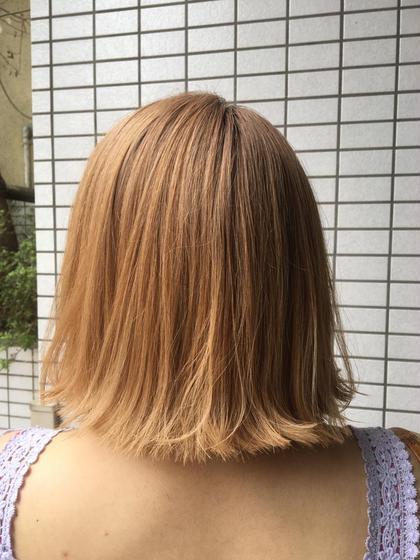 外ハネボブ Hair&Make   breatth所属・尾股麻貴のスタイル