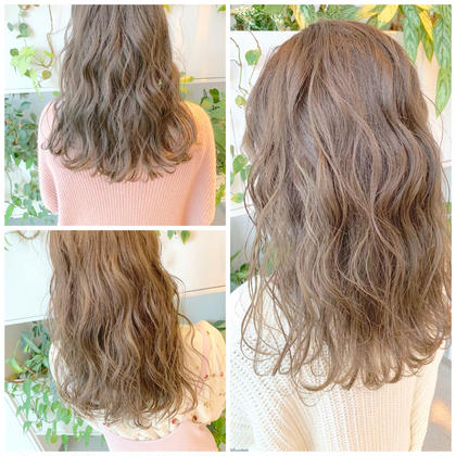#アオハル 【誰もが憧れる髪色へ】💐選べるミルクティーベージュカラー💐