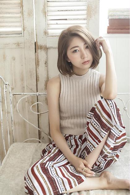 ☆切りっぱなしボブ☆Zina☆ Zina shinjuku   店長所属・Zina 新宿 店長中村のスタイル