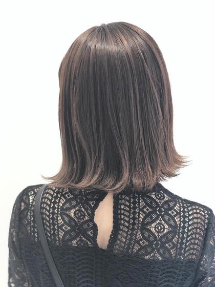 💜3Dカラーとオレンジ味を消す秘伝のカラー調合が決めて♡トリートメントと合わせてツヤツヤな髪を手に入れてください😊