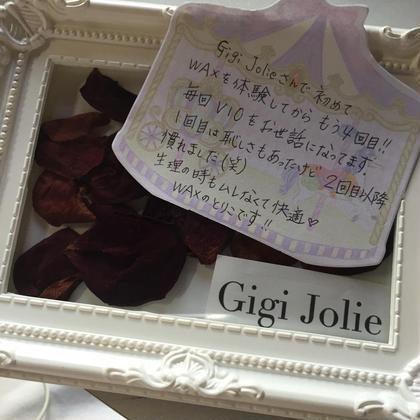 VIO3箇所set脱毛お客様レビュー❤︎ Gigi Jolie所属・牧田瑠実のフォト