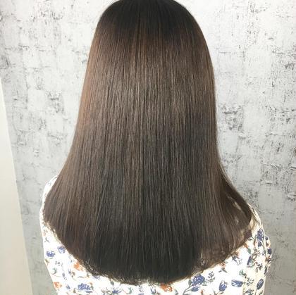 【髪質改善🍀ロング】カット&縮毛矯正&oggiottoトリートメント