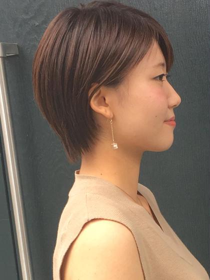 ジェリーwaxで仕上げたショートスタイル☆ morio from london 大宮2号店所属・細矢茉里子のスタイル