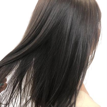 カット+髪質改善縮毛矯正+ケラスターゼトリートメント🌱✨お持ち帰りトリートメント付き❤️