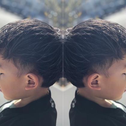 ★men's cut★  ⚡️kids cut⚡️ EARTH coiffure beaute 伊勢崎所属・okamotoryoheiのスタイル