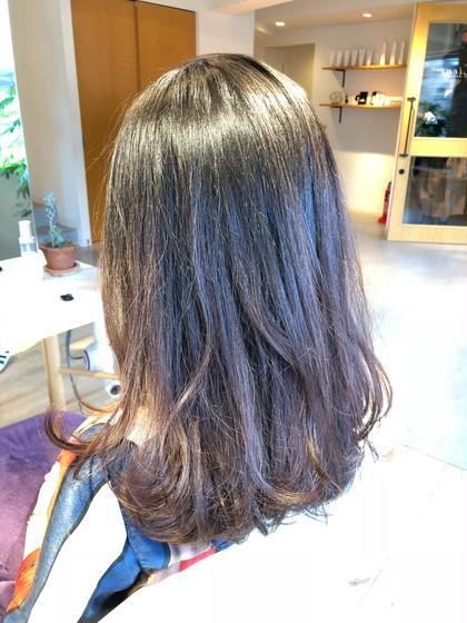 #ロング#Hカラー#復元カラー#元町駅前#hair design Lien#Roland#ツヤツヤ hair design Lien所属・長尾浩史のスタイル