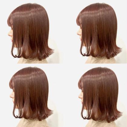 💗透明感カラー➕似合わせカット➕髪質に合わせたシャンプー➕4stepハホニコオリジナルさら艶トリートメント💗