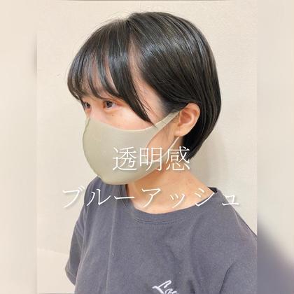 <<10月限定クーポン>>うるつやカラー+毛先毛量調整カット✨(無料トリートメント付き!)