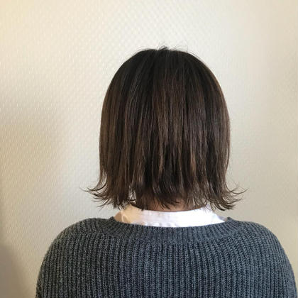 ダブルカラー×ボブ ブロッサム熊谷店所属・石井努のスタイル