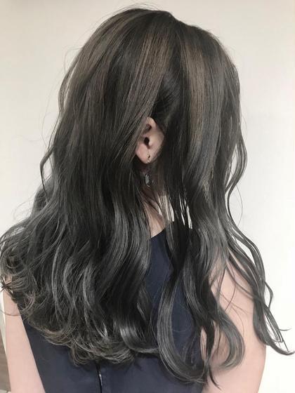 🎊[一気にイメチェン]✨似合わせカット & 艶カラー & ゆるふわパーマ ¥8000