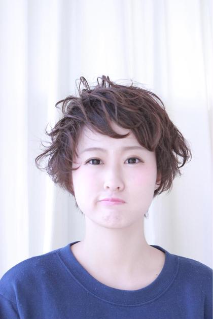 ショートボブ Rias hairdesign所属・中尾亮のスタイル