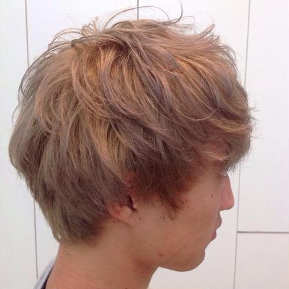 ホワイト♪ 加藤大貴のメンズヘアスタイル・髪型