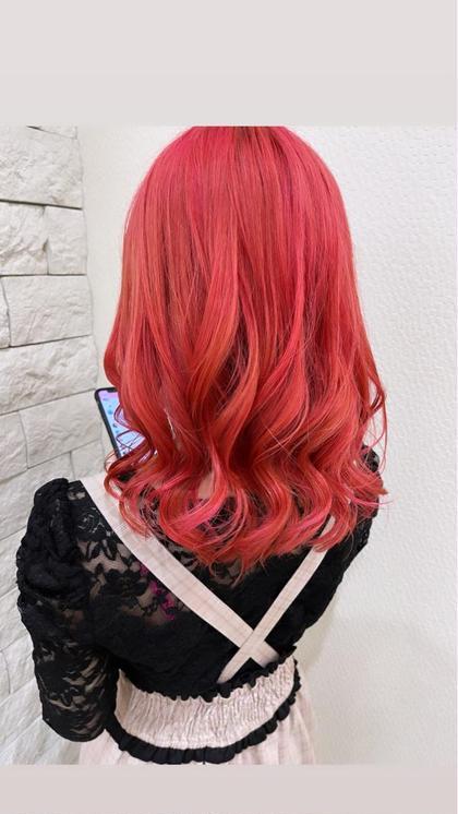 【春限定🌸🌸🌸】桜咲くお花見ピンクカラー&イメチェンカット🎀🎀🎀