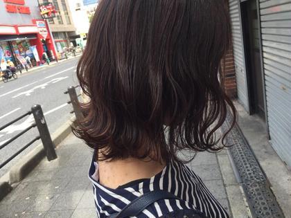 ミニモ限定 ☆ ご新規様クーポン ☆カット+オーガニック艶カラー+ CMCトリートメント