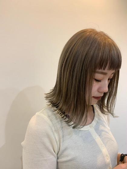 ⭐︎ミニモ限定!!TOKIOトリートメント×外国人風カラー⭐︎イルミナ/アディクシー/THROW+TOKIO¥8500