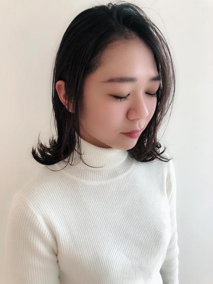 femme宝町店所属の鈴木彩香のヘアカタログ