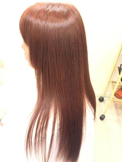 ☆オレンジ × ピンク azure所属・形川莉穂のスタイル