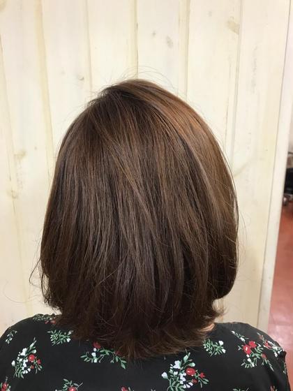 ぱーぷる✖︎グレー✖︎ベージュの ミックスカラー hair&spa   an  contour所属・石原ナナのスタイル