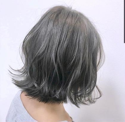 ミニモ特別価格【デザインカット+カラー+髪質改善トリートメント】