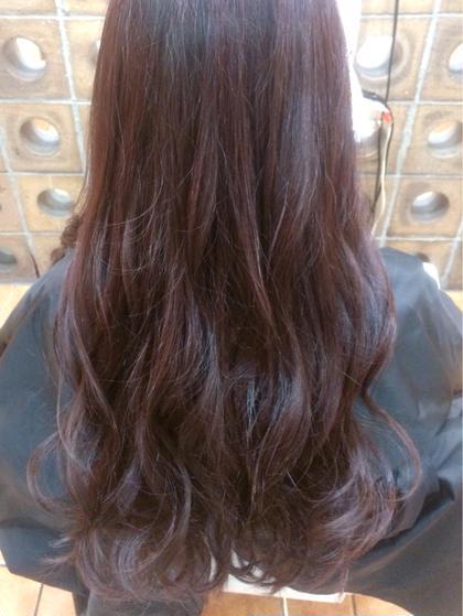 ∴  髪の中の内部の奥まで集中ケア♬ シングルカラー 【オーガニックカラー】+【3stepトリートメント】 《新規限定》