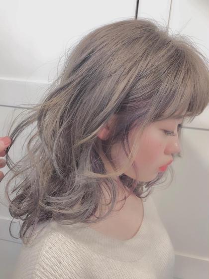 メンテナンスコース😍【前髪パーマ➕前髪カット(枝毛のみ全体カット込)➕透明感トレンドカラー➕うる艶コラ2stepTr】